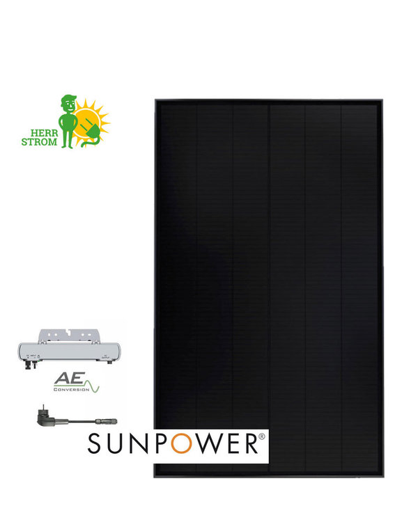Balkonkraftwerk SunpowerPerformance 315 BASIC